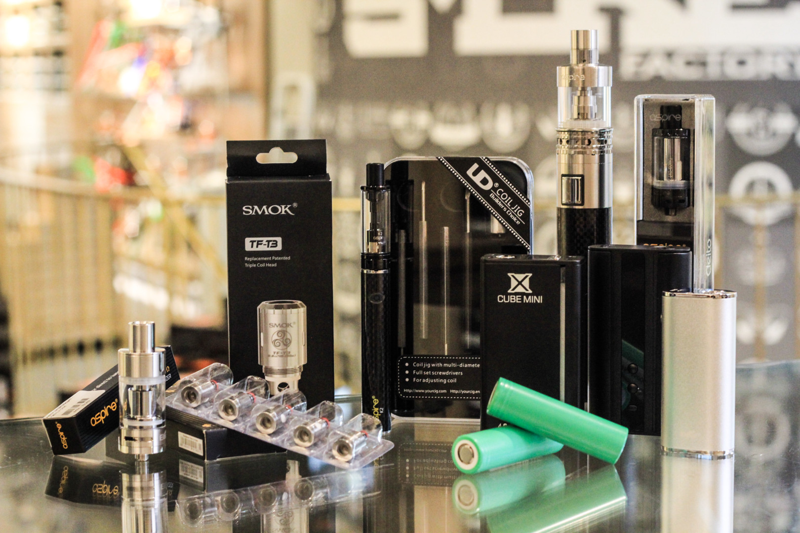 Zubehör für E-Zigaretten