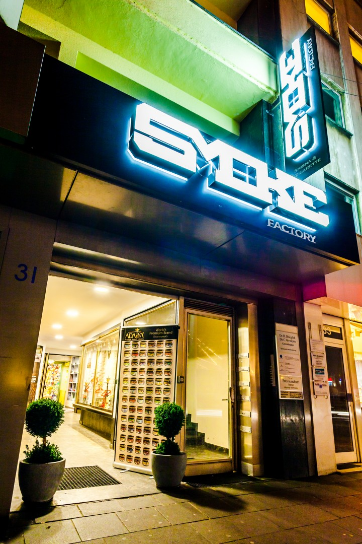 SmokeFactory Köln – Fachhandel für Shisha und E-Zigarette