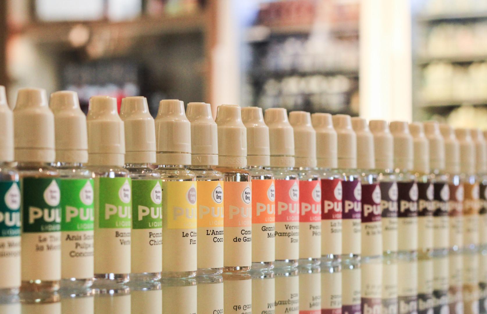 Liquids für E-Zigaretten