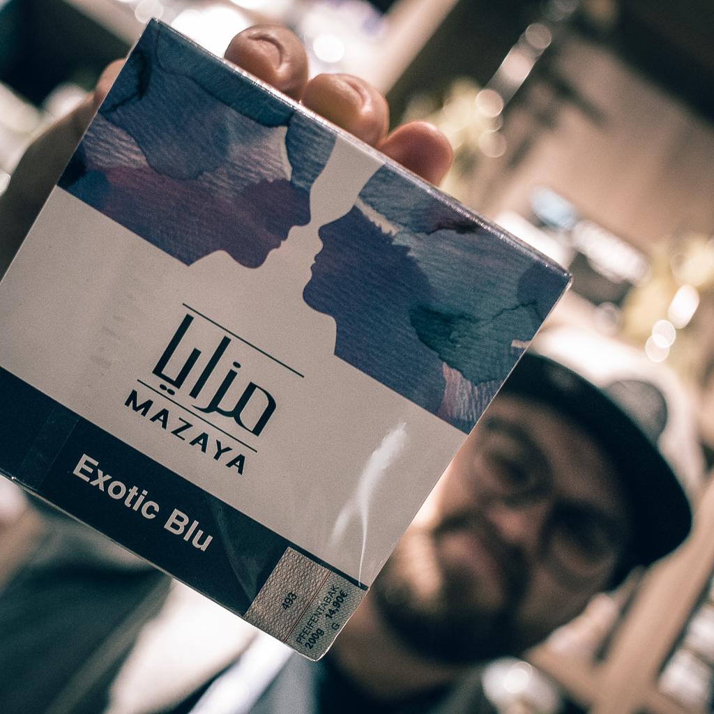 Mazaya Exotik Blu Shishatabak 200g